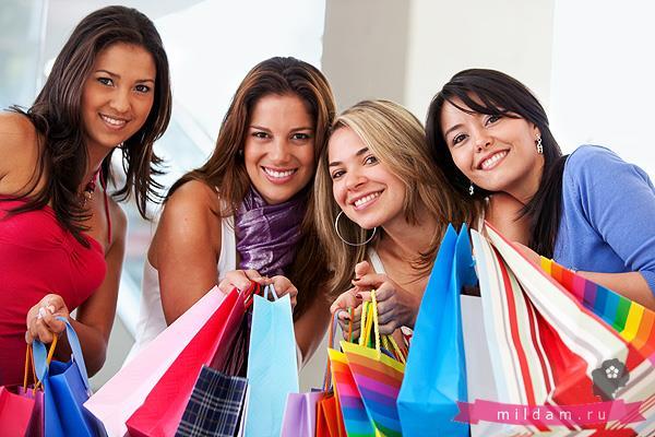Покупки для девушки - настоящее удовольствие